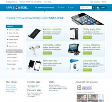 Tvorba web stránek pro applemedik.cz Frýdek-Místek
