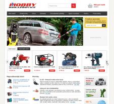 Grafický návrh e-shopu hobbyhorazdovice.cz Ostrava