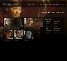 Tvorba webové prezentace filmu Praha